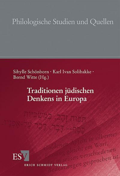 Traditionen jüdischen Denkens in Europa
