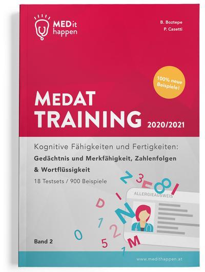 MEDithappen MedAT Training 2020/2021. Bd.2