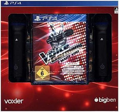 The Voice of Germany - I want you (inkl. 2 Mikros) - Bigben Interactive Gmbh - Videospiel, Deutsch, , Für PlayStation 4, Für PlayStation 4