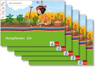 Mein Indianerheft. Nutzpflanzen. Arbeitsheft Klasse 3/4 (5-er Paket)