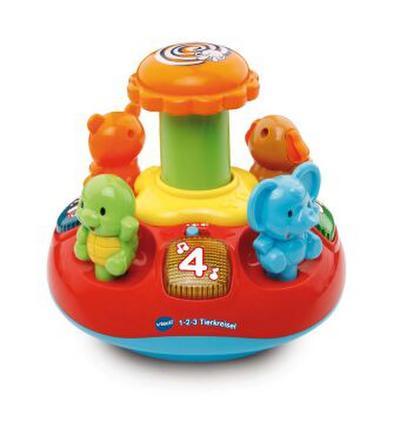 VTech Baby 80-186304 - 1-2-3 Tierkreisel - Vtech - Spielzeug, Deutsch, , ,