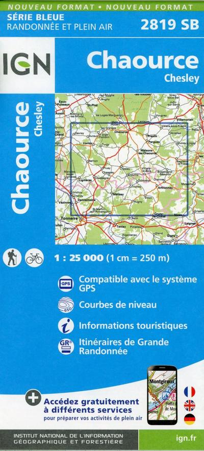 Chaource.Chesley 1:25 000