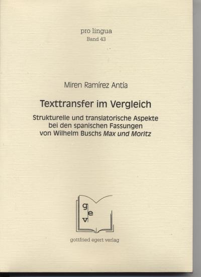 Texttransfer im Vergleich