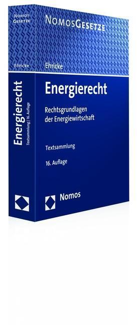 Ulrich Ehricke , Energierecht ,  9783848725953