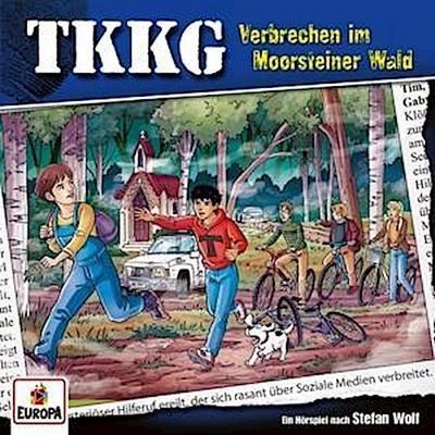 TKKG 215. Verbrechen im Moorsteiner Wald