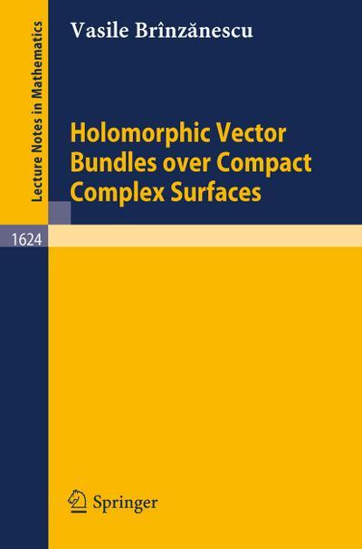 Holomorphic Vector Bundles over Compact Complex Surfaces