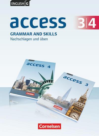 English G Access Band 3/4: 7./8. Schuljahr - Allgemeine Ausgabe - Grammar and Skills