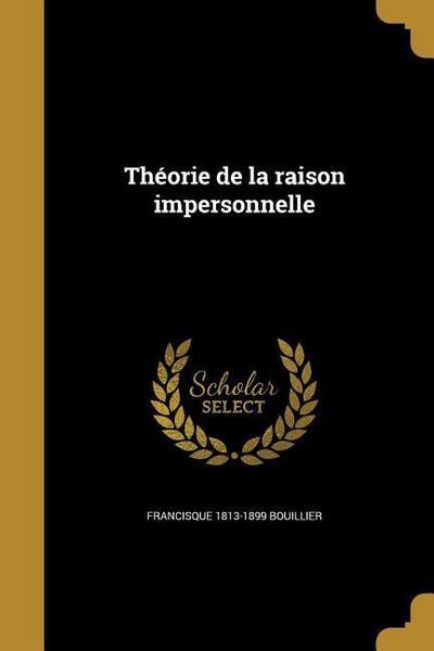 FRE-THEORIE DE LA RAISON IMPER