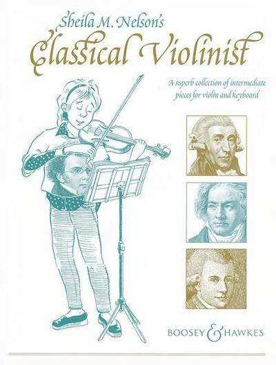 Sheila M. Nelson's Classical Violinist