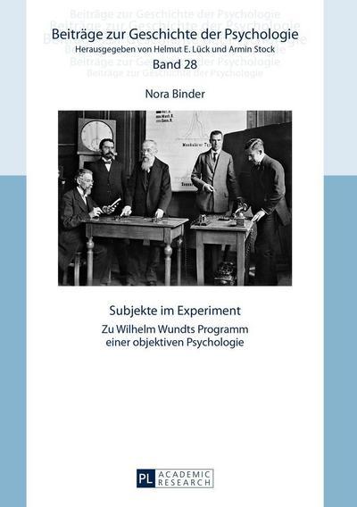 Binder, N: Subjekte im Experiment