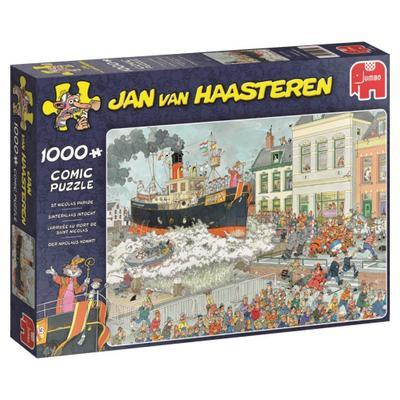 Jan van Haasteren - Der Nikolaus kommt! - 1000 Teile Puzzle