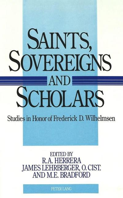 Saints, Sovereigns, and Scholars