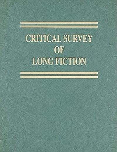 Critical Survey of Long Fiction, Volume 4: Oscar Hijuelos-Patrick McGinley
