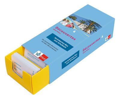 Découvertes Série Bleue 4. Vokabel-Lernbox zum Schulbuch