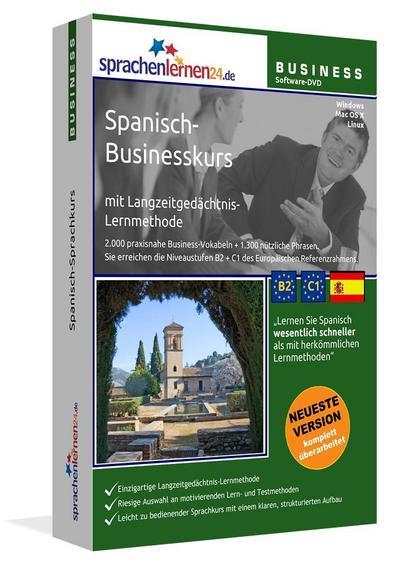 Sprachenlernen24.de Spanisch-Businesskurs Software