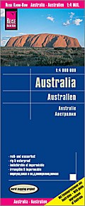 Reise Know-How Landkarte Australien 1 : 4.000.000