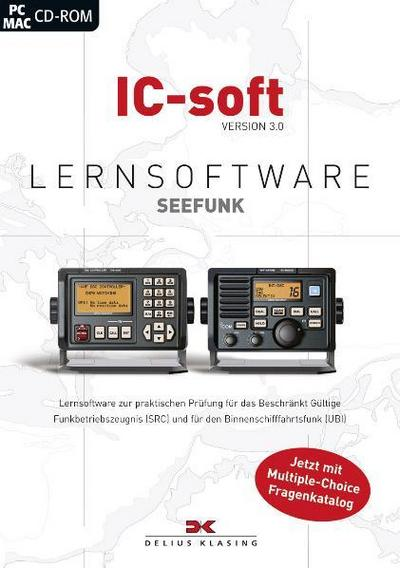 IC-soft Version 3.0, Lernsoftware Seefunk, 1 CD-ROM