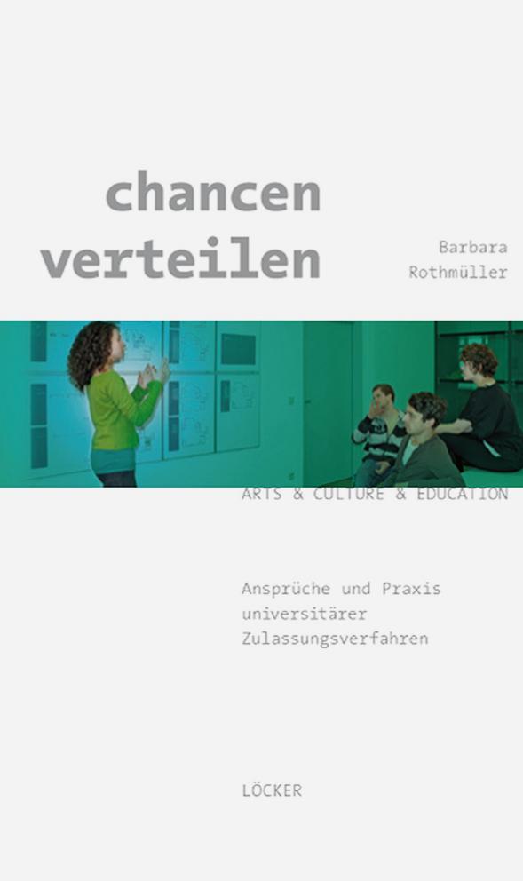 chancen verteilen Barbara Rothmüller