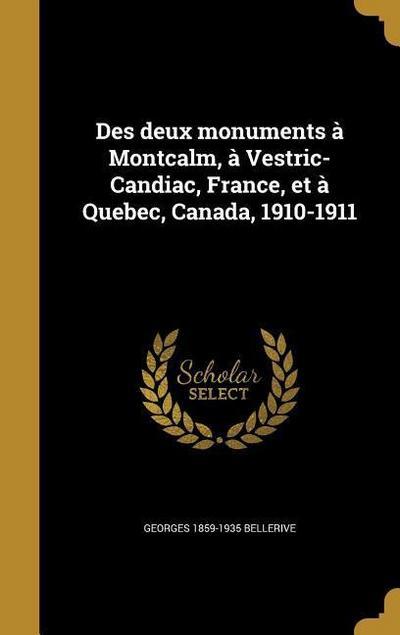 FRE-DES DEUX MONUMENTS A MONTC