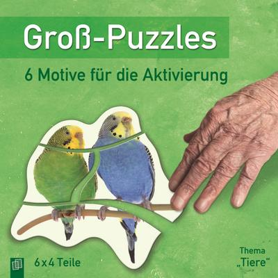 """Groß-Puzzles: Thema """"Tiere"""""""