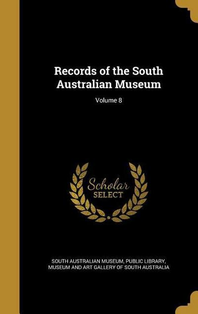 RECORDS OF THE SOUTH AUSTRALIA