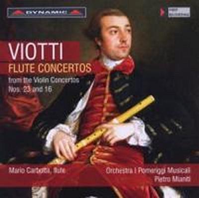 Flötenkonzerte nach den Violinkonzerten 16 und 23