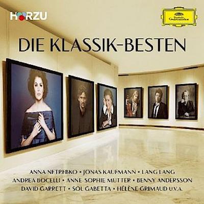 Die Klassik-Besten, 2 Audio-CDs