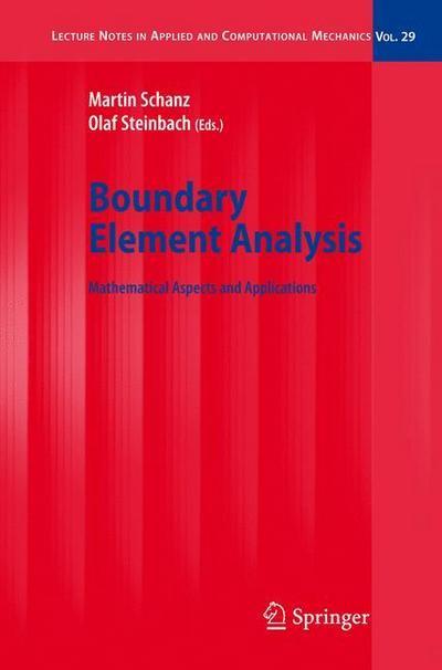 Boundary Element Analysis