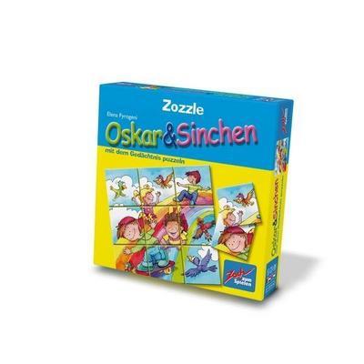 Zoch 601131900 - Zozzle Memo Puzzle - Oskar und Sinchen