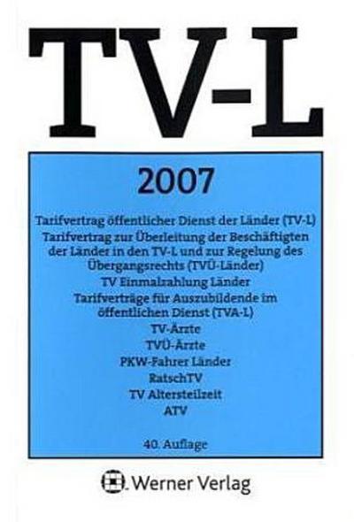 TV-L Länder 2007