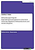 Behandlungserfolg der Jugenddrogenentzugsstation clean.kick unter den Aspekten Substanzkonsum und soziale Adaption - Anette E. Fetzer