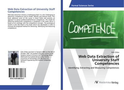 Web Data Extraction of University Staff Competencies