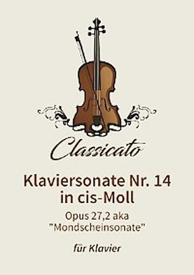 Klaviersonate Nr. 14 in cis-Moll