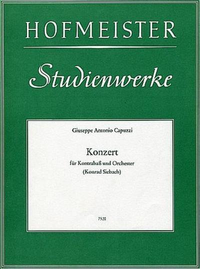 Konzertfür Kontrabass und Orchester