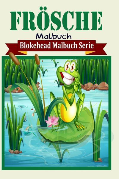 Frösche Malbuch