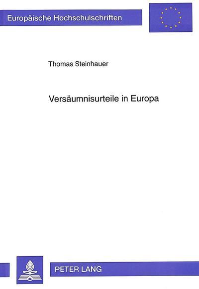 Versäumnisurteile in Europa