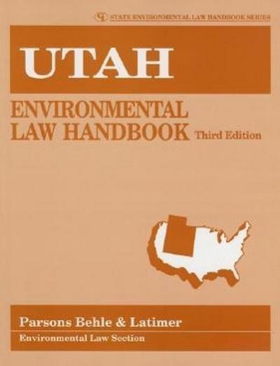 Utah Environmental Law Handbook