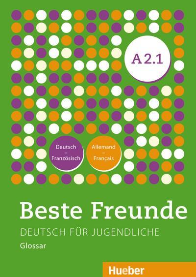 Beste Freunde A2/1. Glossar Deutsch- Französisch  - Allemand-Français
