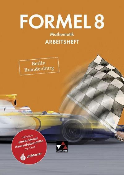 Formel 8 Arbeitsheft Berlin/Brandenburg