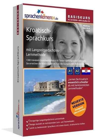 Sprachenlernen24.de Kroatisch-Basis-Sprachkurs
