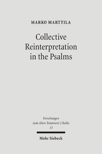 Collective Reinterpretation in the Psalms