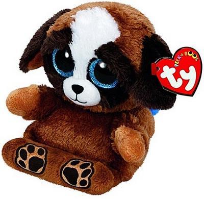 Pups, Hund 15 cm. Handyhalter