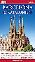Vis-à-Vis Reiseführer Barcelona & Katalonien; mit Extrakarte und Mini-Kochbuch zum Herausnehmen; Vis-à-Vis; Deutsch; 500  farbige Fotos, Aufrisszeichnungen & Grundrisse