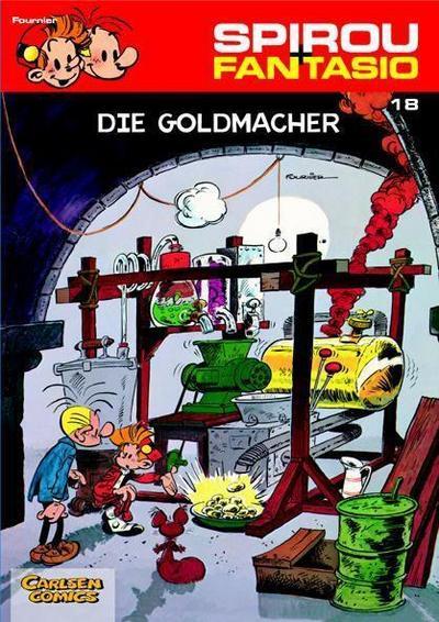 Spirou und Fantasio 18. Die Goldmacher