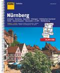 ADAC Stadtatlas Großraum Nürnberg 1 : 20 000