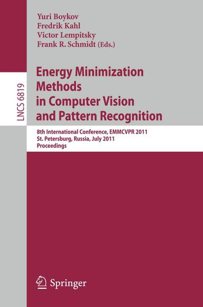 Energy Minimazation Methods in Computer Vision and Pattern Recognition