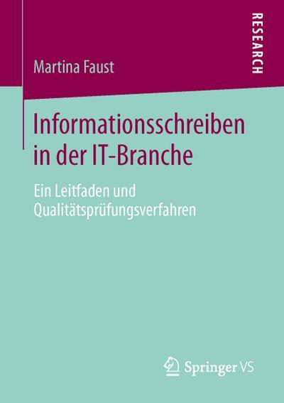Informationsschreiben in der IT-Branche