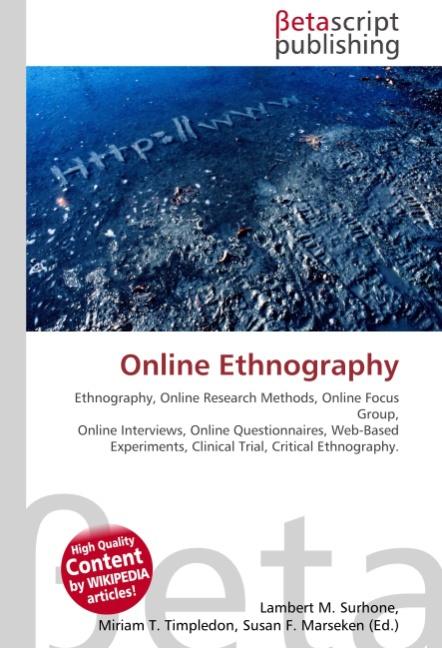 Online Ethnography | Lambert M. Surhone |  9786130317256