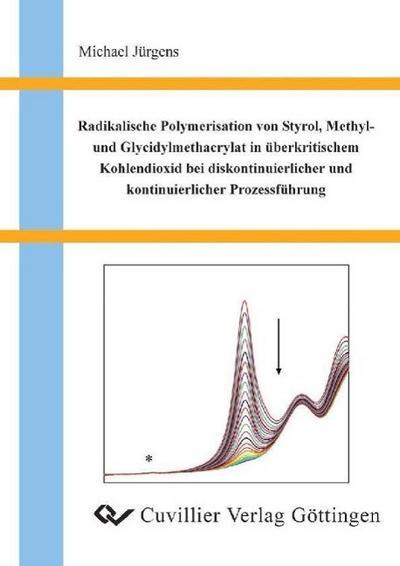 Radikalische Polymerisation von Styrol, Methyl- und Glycidylmethacrylat in überkritischem Kohlendioxid bei diskontinuierlicher und kontinuierlicher Prozessführung