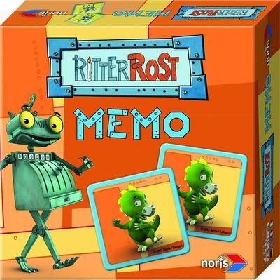 Noris Spiele 606011076 - Ritter Rost Memo, Kinderspiel